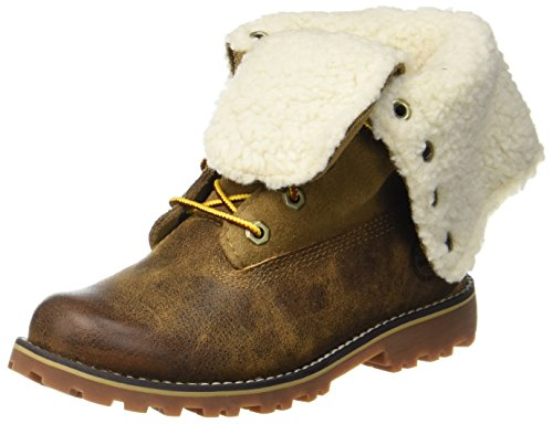 Kids' Dark Brown Authentics Brown Boot Sudan Unisex Timberland gUOnaxw5