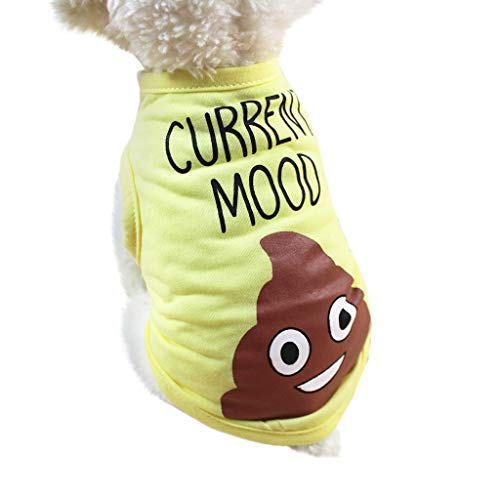 Longay Spring And Summer Dog Clothing Polyester Vest Puppy Costume (S) ()