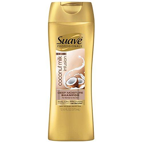 Shampoo Suave Coconut (Suave Professionals Deep Moisture Shampoo, Coconut Milk Infusion 12.6 oz)