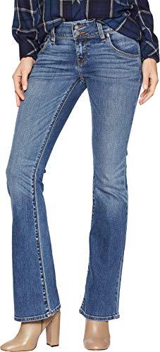 Hudson Jeans Women's Signature Petite Midrise Bootcut Flap Pocket Jean, Olympic BLVD, 25 -