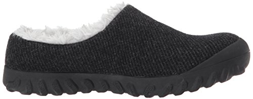 Wool Boot Black Slip on Women's Bmoc Snow Bogs gFzIRx