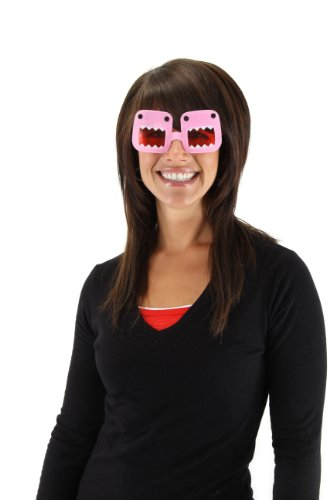 [elope Domo Glasses, Pink, One Size] (Domo Costume For Dogs)