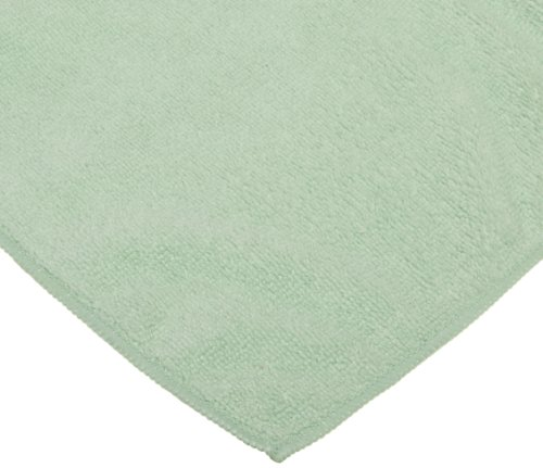 CPI MCLOTH G General Purpose Microfiber Cloth, 16-Inch x 16-Inch, Green (Pack of 12)