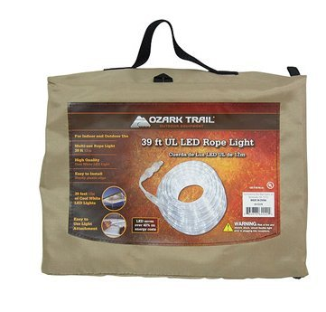 Ozark Trail 39' LED Rope Light, Cool White