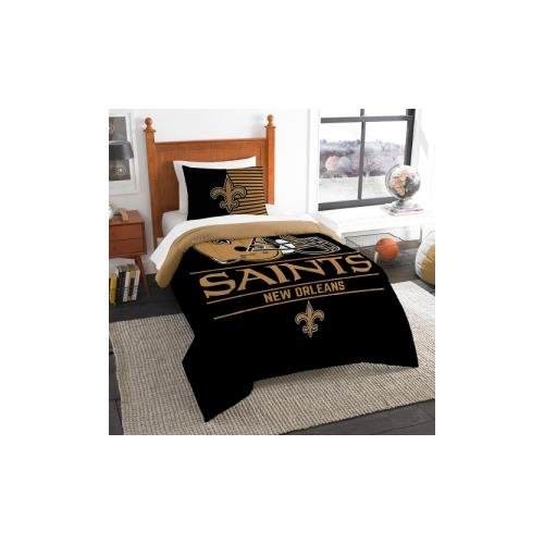 - The Northwest Company NFL New Orleans Saints Twin Comforter and Sham, One Size, Multicolor