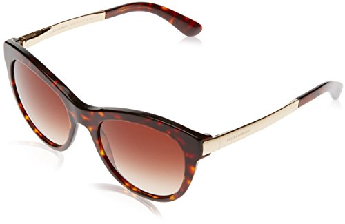 Dolce and Gabbana DG4243 50213 Tortoise Sicilian Taste Cats Eyes Sunglasses - Dolce Gabbana Glasses And Tortoise