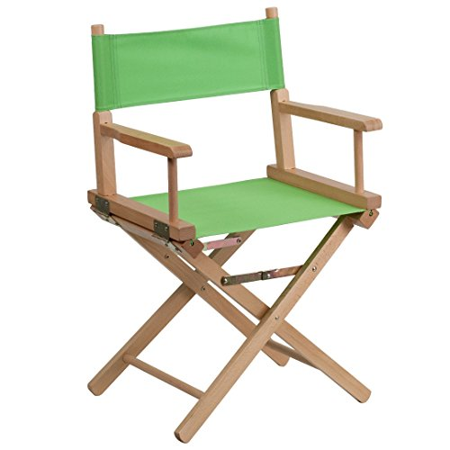 MFO Standard Height Directors Chair in Green by My Friendly Office
