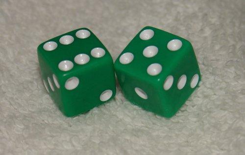 超話題新作 Mini Green Opaque B0012KVF4W Pair Dice Green Pair B0012KVF4W, 高砂市:bf1c1614 --- cliente.opweb0005.servidorwebfacil.com