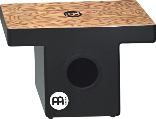 Meinl Percussion TOPCAJ1MB Makah Burl Slap-Top Cajon with Internal Snare and Forward Projecting Sound Ports (VIDEO) by Meinl Percussion