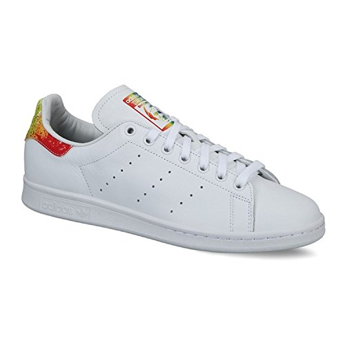 Adidas Heren Originelen Stan Smith Sneaker Wit / Wit / Multi