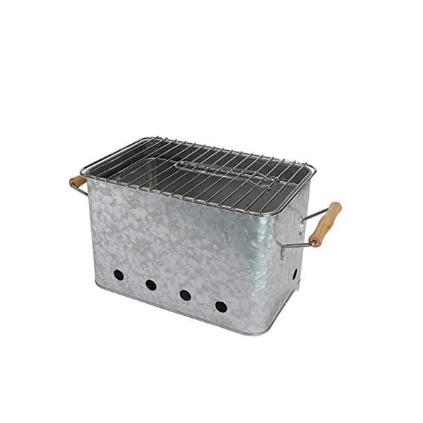 XB Barbecue Griglia a Carbone in Acciaio Inox Pieghevole Kit di Attrezzi per Barbecue con Borsa da Campeggio… 1 spesavip