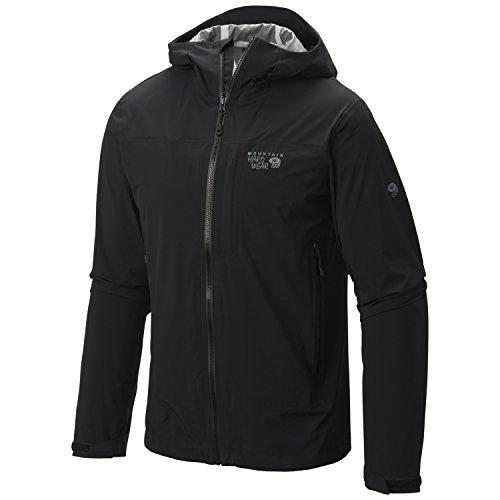 Mountain Hardwear Stretch Ozonic Jacket - Men's Black X-L...