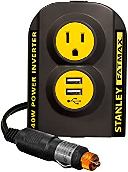 Stanley FatMax 140W Power Inverter with Dual USB Ports