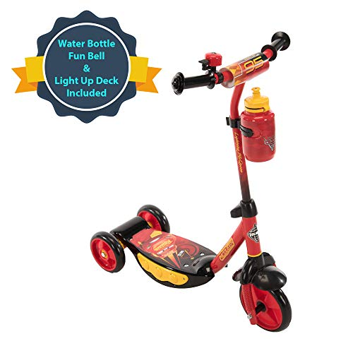 Scooter preescolar de tres ruedas Huffy Disney Pixar Cars, Star Wars, Disney Princess, Disney Frozen, Marvel Spider-Man