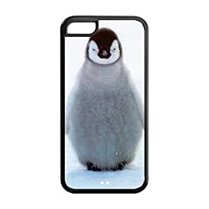 TYH - Stylish Iphone 5C Case, Penguin Design Rubber TPU Case for Iphone 5C ending phone case
