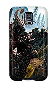 High Quality PftkUOD11652BDXCE Skyrim Tpu Case For Galaxy S5