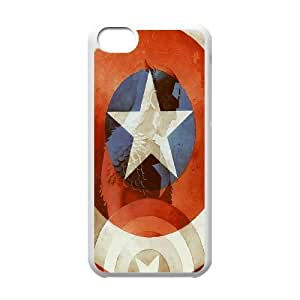Custom High Quality WUCHAOGUI Phone case Caption American Pattern Protective Case For Iphone 5c - Case-20