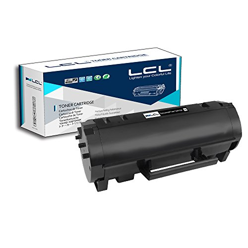 (LCL Compatible Toner Cartridge Replacement for Lexmark 60F1H00 60F1000 601H 10000 Page MX310dn MX410de MX510de MX511dte MX511dhe MX511de MX610dw MX611de MX611dhe MX611dte (1-Pack Black))