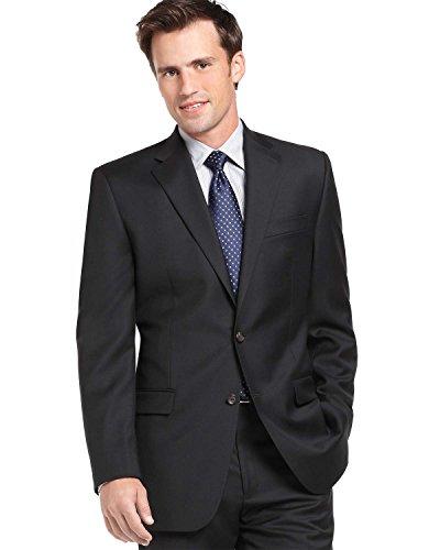 (Ralph Lauren Blazer Black Herringbone Wool-Laine New Men's Sport Coat (52 Regular))