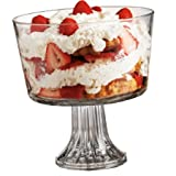 Handcrafted Glass Trifle Bowl