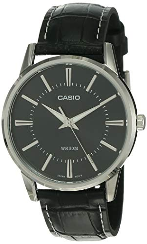 Casio Enticer Analog Black Dial Men #39;s Watch   MTP 1303L 1AVDF  A496