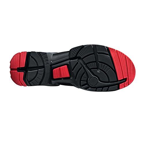 """Uvex Sicherheitsstiefel/botas de trabajo """"one"""" 8517 S3, negro/rojo, ancho: 11, diferentes tamaños negro - Schwarz/Lime"""