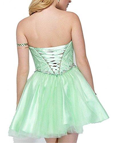 mia Cocktailkleider Neu Traegerlos Minze La Festlichkleider Mini Braut Promkleider Abendkleider Kurzes Ballkleider Gruen Partykleider dIwIXP7q