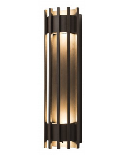 Westgate LED Wall Sconces Crest Lights-Dark Bronze Light with Philips Lumileds LEDs - 7 Year Warranty - Pen (5000K Cool White)