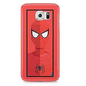 Samsung Galaxy S6 Edge Case Spiderman Peter Parker Marvel Avenger Superhero-Sleek Design Durable Wrap Around Phone Cover