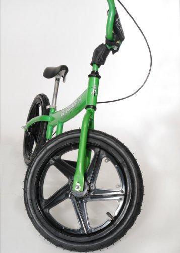 Glide Bikes Kid's Go Glider Balance Bike, Green, 16-Inch by Glide Bikes (Image #3)
