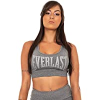 TOP EVERLAST COSTAS ABERTAS E LOGO METALIZADO