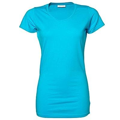Tee Jays Ladies Stretch Extra Long Short Sleeve T-Shirt