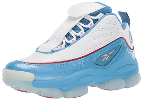 Allen Iverson Reebok - Reebok Unisex Adult's Iverson Legacy, athletic blue/white/power red 8 M US