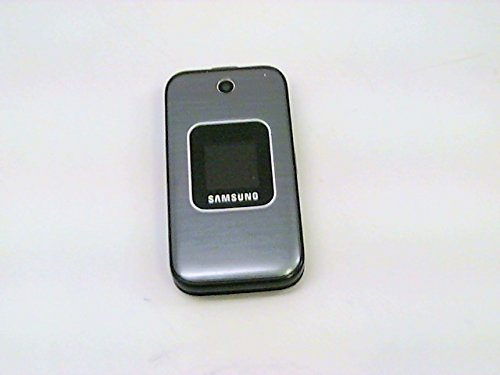 Samsung M400 Sprint CDMA Flip Cell Phone - Silver (Samsung M400 Sprint Cell Phone)