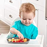 WEESPROUT Bamboo Toddler Plates - 4 pc Set