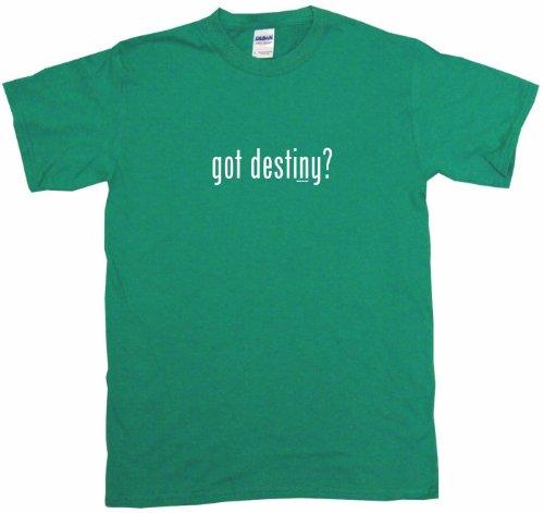 Got Destiny Big Boy's Kids Tee Shirt Youth Large-Green -