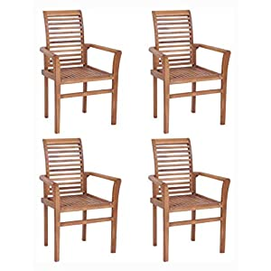 41qmI8n9FnL._SS300_ Teak Dining Chairs & Outdoor Teak Chairs