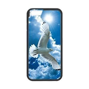 "White Dove DIY Case for Iphone6 Plus 5.5"", Custom White Dove Case"