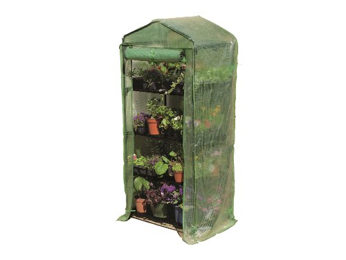 Gardman 4 Tier Growhouse with Reinforced Cover 08718