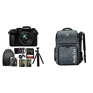 Panasonic Lumix G DC-G95 20.3MP Mirrorless Camera with 12-60mm Lens (4K Photo, Wi-Fi and Bluetooth) + Arctic Fox Camera… 4