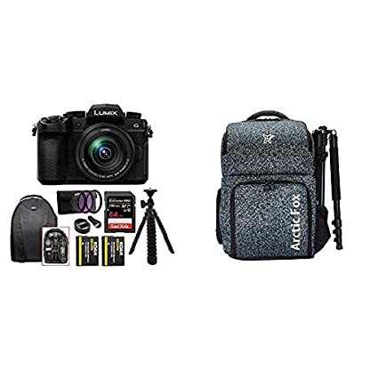Panasonic Lumix G DC-G95 20.3MP Mirrorless Camera with 12-60mm Lens (4K Photo, Wi-Fi and Bluetooth) + Arctic Fox Camera… 1