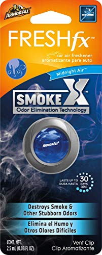 Armor All FRESHfx Car Air Freshener Vent Clip (SmokeX Midnight Air)