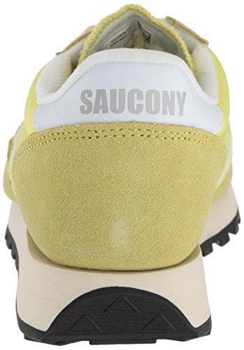 Jazz White Saucony Yellow Baskets Femme Original Vintage zwaq1dZgw