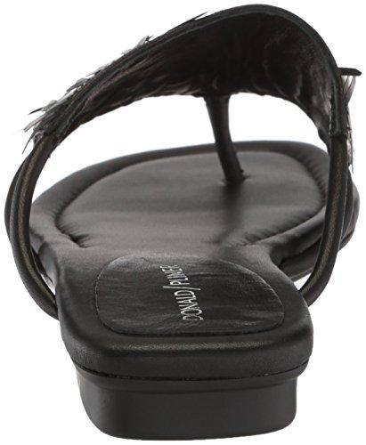 Donald J Pliner Women's Kya Slide Sandal, Black, 10 Medium US by Donald J Pliner (Image #2)