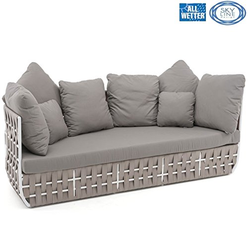 SKYLINE DESIGN® STRIPS LOUNGE SOFA
