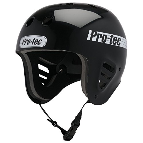 - Pro-Tec - Full Cut Water Helmet, Gloss Black, L