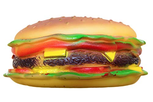 cheese burger dog toy - 1