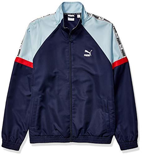 PUMA Men's XTG Woven Jacket, Peacoat, - Inspired Woven Jacket