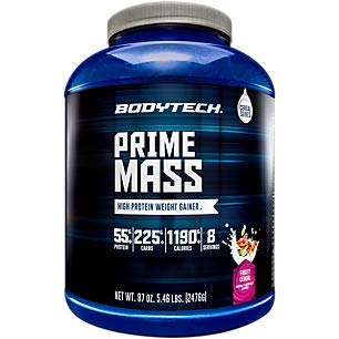 Prime Mass High Protein Weight Gainer Powder Fruity Cereal (6 Lbs. / Servings)