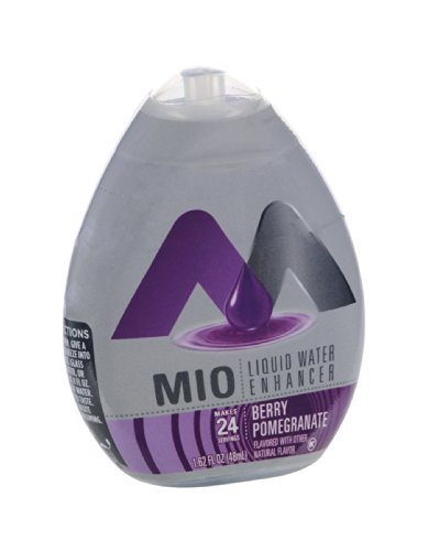 Mio Berry Pomegranate Liquid Water Enhancer 1.62 OZ (Pack of 24)